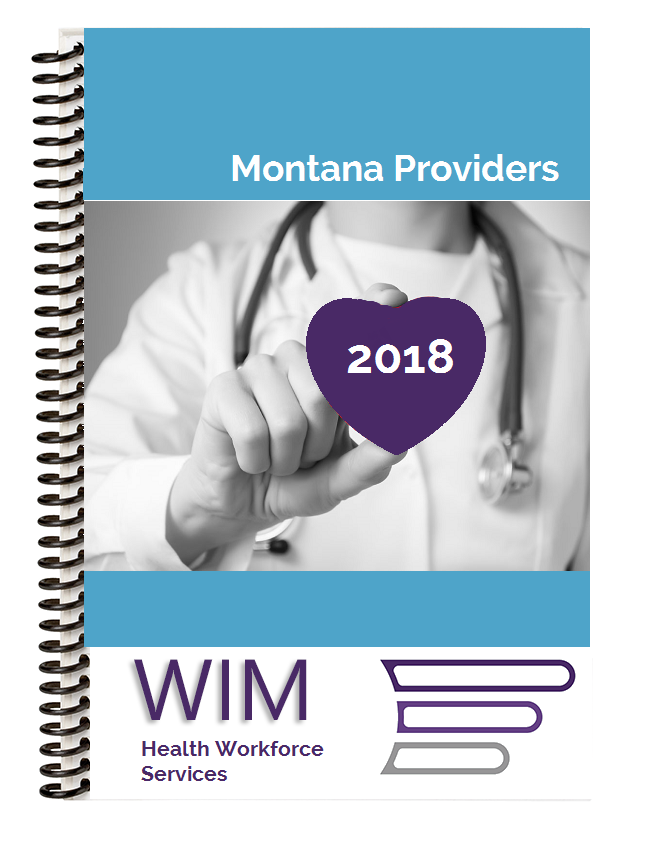2018 Montana Provider Directory WIM Tracking